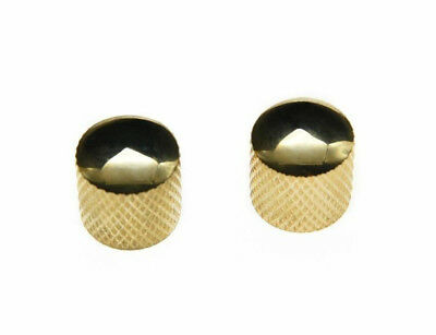 *NEW DOME CONTROL KNOBS for Fender Telecaster Tele Guitar Parts 6 MM Gold