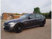 BMW 330d Auto Msport in Sparkling Graphite Grey