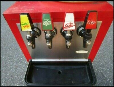 Rare Cornelius 4-head Coca Cola Premix 750 Soda Fountain Antique