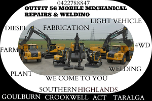OUTFIT 56 MOBILE MECHANICAL REPAIRS & WELDING Bowral Bowral Area Preview