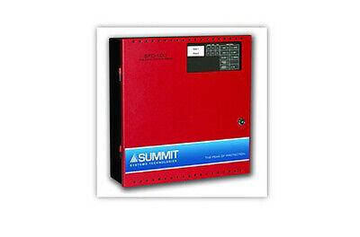 Summit Sfc-102 Small Building Fire Protection Two Zone Fire Alarm Control Panel