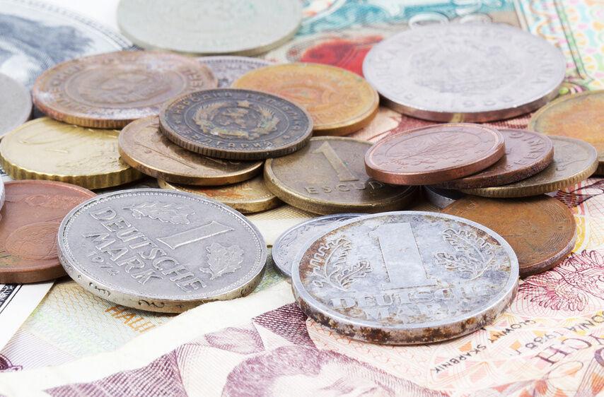 Deutsche Kursmünzensätze vor der Euro-Einführung