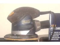Sander (on wood it's very good) GMC 140 MM DETAIL SANDER 130 WATTS