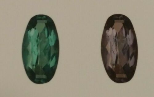 GIA Certified Natural 100% Strong Color Change Alexandrite 1.18 TCW Oval