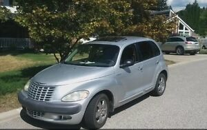 2001 pt cruiser 160,000km great on fuel