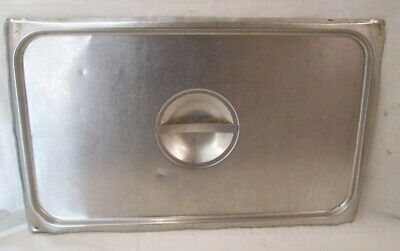 Restaurant Equipment Supplies Full Size Stainless Steel Steam Table Food Pan Lid
