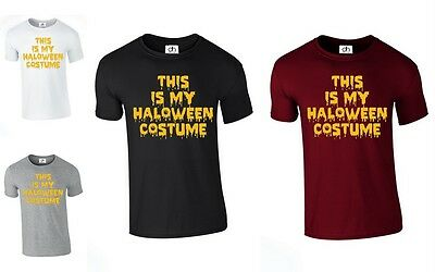 This is my Halloween Costume Scary T-SHIRT pumpkin Scary Horror (COSTUME,TSHIRT) - This Is Halloween Horror