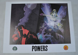 Powers-Dynamic-Forces-Print-Poster-2002-Michael-Oeming-Bendis-24-x-18