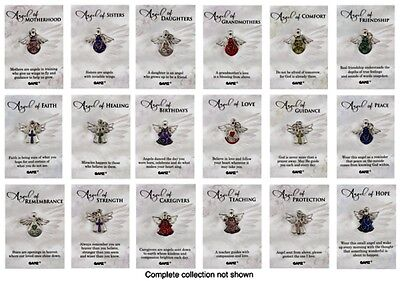 Guardian Angel Of    Lapel Pin You Choose Topic New  Stocking Stuffer Jewelry