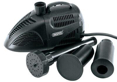 Genuine DRAPER 1500L/Hour 22W 230V Fountain Pump | 30024
