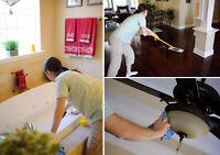 Quality residential cleaning that's within the budget.