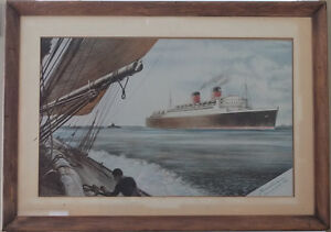 RMS Mauritania II 1938 Cunard White-star West Island Greater Montréal image 1
