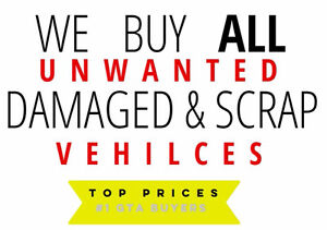 Unwanted & Scrap Cars, Vans and Trucks Buyers. Up to $4500