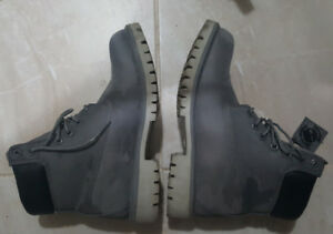 """TIMBERLAND 6IN BOOT """"GREY CAMO"""" Reflective"""