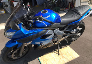 2009 Ninja 650R with upgrades, one owner