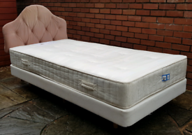single-size Next bed base with John Lewis mattress. Good condition.