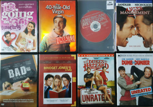 Various Comedy DVD Movies