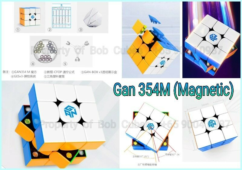- Gan 354M (Magnetic) 3x3 for sale in Singapore Gan 354 M