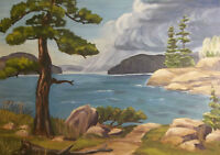 Original Oil Paintings by Dorothy Morrison of Muskoka
