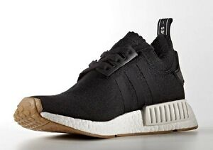 Adidas-NMD-R1-Black-Gum-Sole