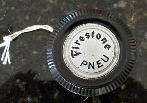 Firestone tires advertising promotional yo-yo French 1940's