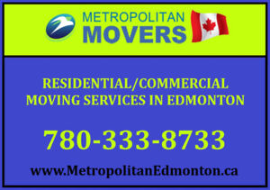 (587) 401 1773 • MOVING, MOVERS Edmonton's SERVICE