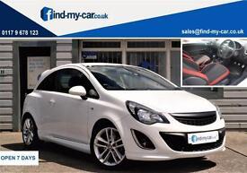 2013 13 Vauxhall Corsa SRI 1.7 CDTi 16V 130 ecoFLEX 3DR WHITE FSH