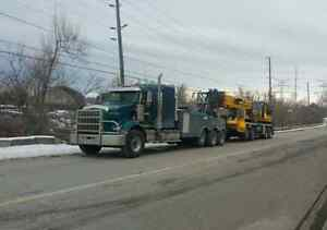 Heavy Towing & Float Service. 24/7 Best Rates. Call 4167591154