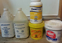 Ph Down & Muratic Acid for Swimming Pool - Several Buckets