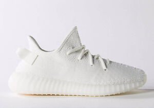 Authentic DS Adidas Yeezy Boost 350 v2 Triple White Size 9.5
