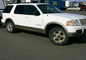 2002 Ford explorer Reduced