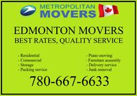 Professional moving company in Edmonton Call 780-667-6633
