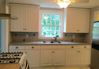 FULLY RENOVATED, LARGE ONE BDRM + Available now