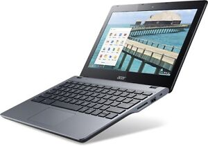 Acer ChromeBook 11.6'' LED 2GB + SSD COMME NEUF Boite Inclus