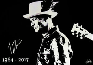 For Sale - Gord Downie Acrylic Painting (original) and prints