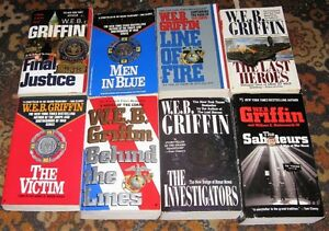 Lot of Web griffen books $5