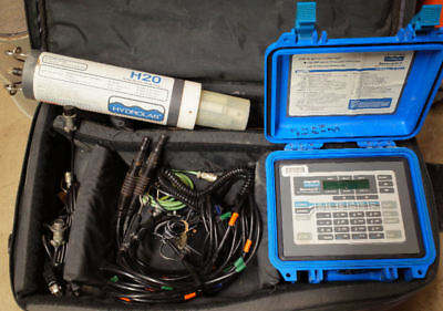 Hydrolab Surveyor 3 W H2o Water Quality Multiprobe Sonde And Cables