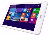 ACER WINDOWS TABLET / Acer Iconia Tab 8 W W1-810 32GB, Wi-Fi, 8in - White