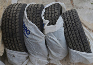 Set of 4 195/60R15 Cooper winter tires NOW ON HOLD PENDING P/U