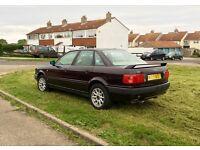Audi 80 SE, 1.6, 1995. Rare old 90's retro, Quattro