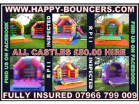 Bouncy castle hire in the stockport area