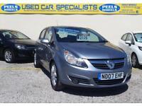 2007 (07) Vauxhall Corsa 1.2i 16v ( a/c ) SXi GREY * IDEAL FIRST CAR * 5 DOORS *