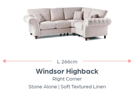 Sofa stone colour