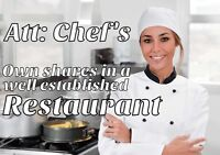 Att: Chef's, start cooking for yourself!