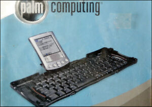 Portable keyboard for Palm Pilot