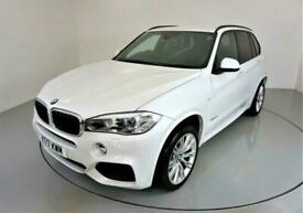image for 2017 BMW X5 3.0 XDRIVE30D M SPORT 5d AUTO 255 BHP-MINERAL WHITE PEARL-HEATED FRO