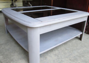 Moving- Beautiful Grey Coffee Table  or side Table
