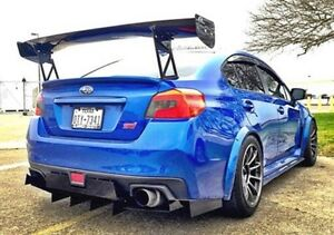 Evil subie customs diffuser subaru sti