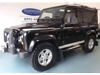 2009 09 LAND ROVER DEFENDER 2.4 90 XS STATION WAGON 3D 122 BHP DIESEL