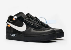 BUYING Off-White x Nike Air Force 1 Black size 10